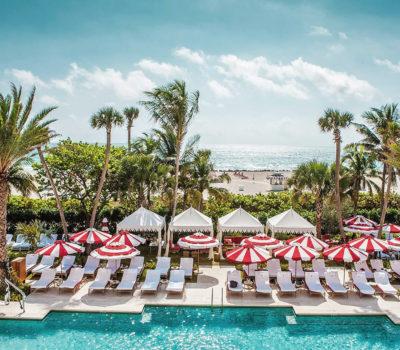 Hotel pool Faena hotel miami beach