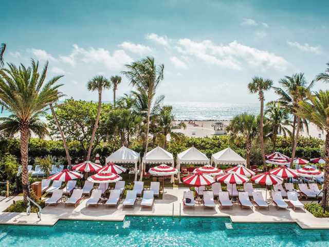 Hotel pool Faena hotel miami beach