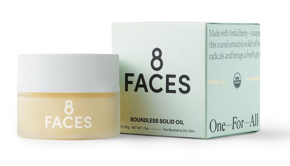 Boundless Solid Oil by 8Faces is a must have travel essential.
