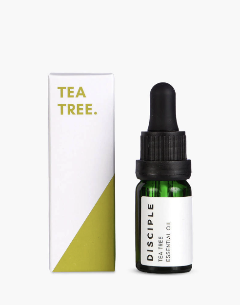 A travel must item for any fight is the tee tree oil by Disciple Skincare.